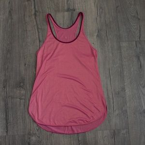 Lululemon What The Sport Singlet Heathered Magenta